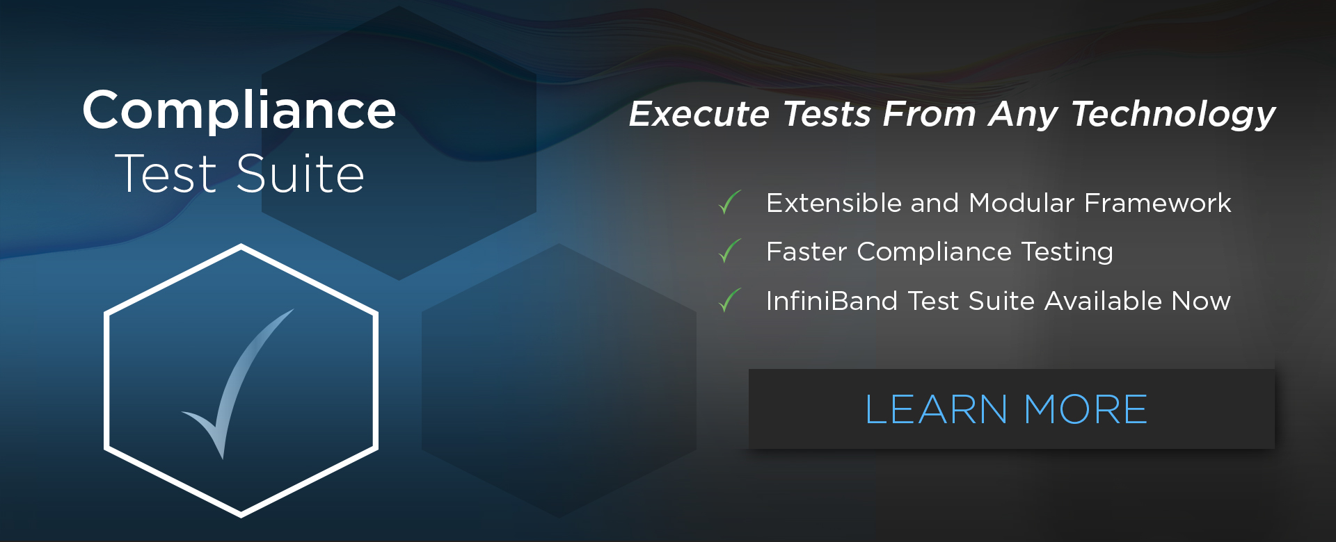 Compliance Test Suite for InfiniBand Testing