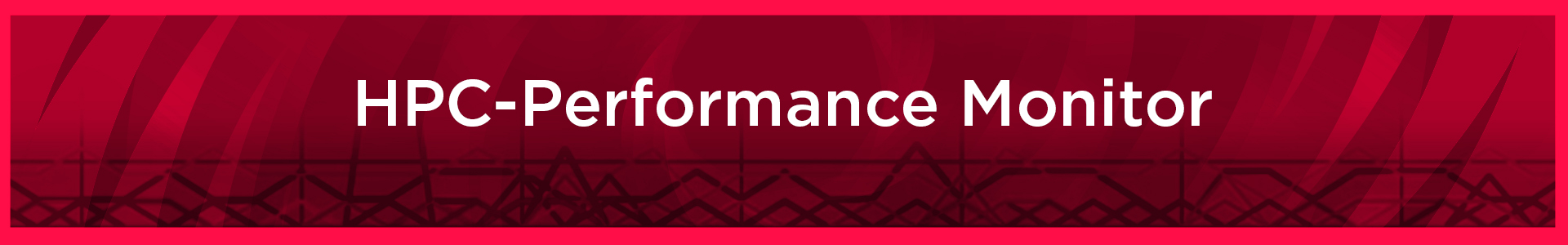 High Performance Computing Performance Monitor